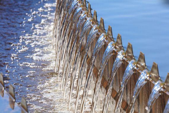 Trinkwasserwerk Schwarze Pumpe, Foto: LEAG