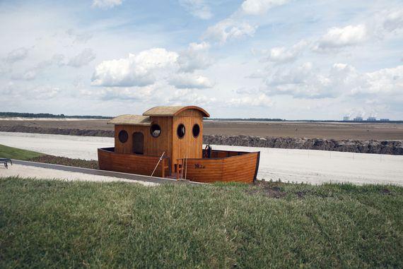 Boot Mia am Cottbuser Ostsee, Foto: LEAG
