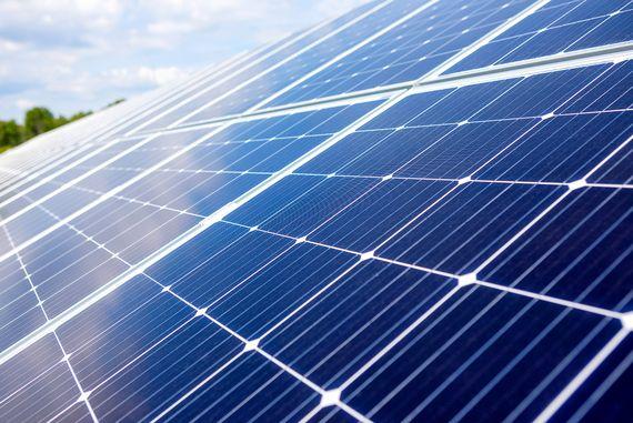 LEAG Solaranlage Welzow, Foto: LEAG