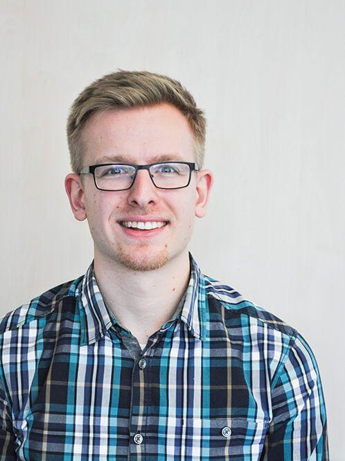 Diplomand Max Mieth, Bergbau-Student der TU Freiberg