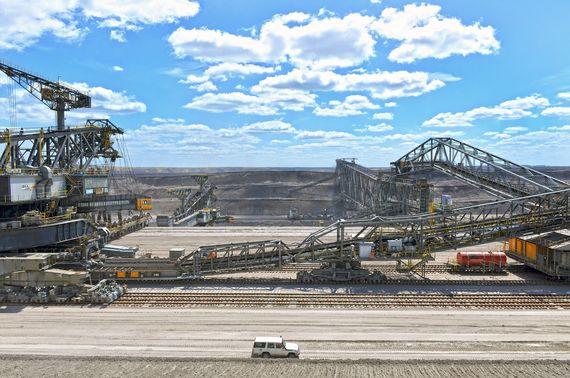 Tagebau Nochten Abraumförderbrücke