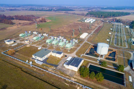 Gasturbinenkraftwerk Thyrow, Foto: LEAG