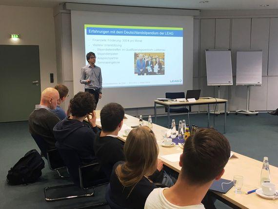 Deutschlandstipendiatentreffen bei LEAG