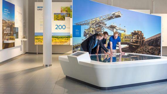 Besucherzentrum im Kraftwerk Schwarze Pumpe