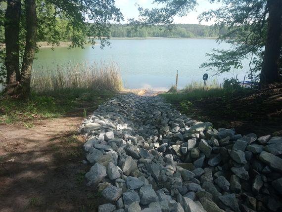 Wassereinleitung in den Pinnower See, Foto: LEAG