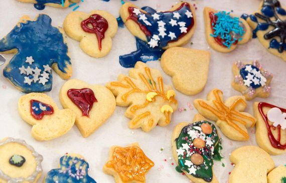 LEAG Weihnachtsbacken Boxberg: Kekse