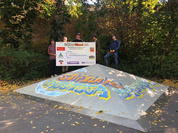 Die Stiftung Lausitzer Braunkohle gehört zu den Unterstützern des Vereins Cottbus Wheel e.V., Foto: Stiftung Lausitzer Braunkohle