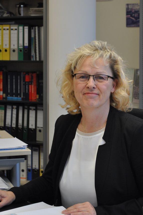 LEAG Mitarbeiterin Heidi Kühn, Ingenieurin Technische Analytik/Kraftwerkseinsatzplanung