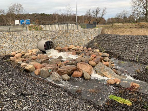 Geringe Mengen Spreewasser dürfen seit dem 18. Dezember 19 wieder in den Ostsee fließen, Foto: LEAG