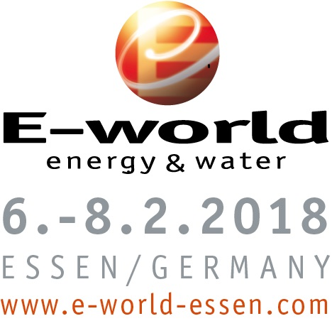 Logo E-World 2018